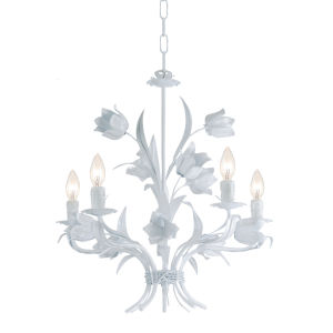 Southport Wet White Five-Light Chandelier