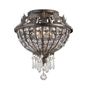 Camelot Small Semi-Flush Ceiling Light