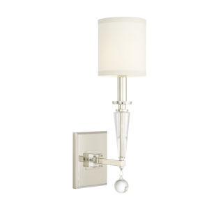 Paxton Polished Nickel One-Light Sconce