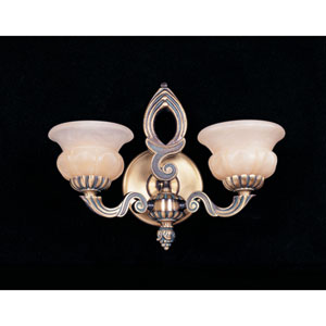 Hot Deal Bronze Patina Two-Light Sconce