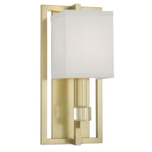 Dixon Aged Brass One-Light Sconce