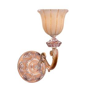 Natural Alabaster Olde Brass One-Light Sconce