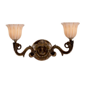 Hot Deal Bronze Two-Light Sconce