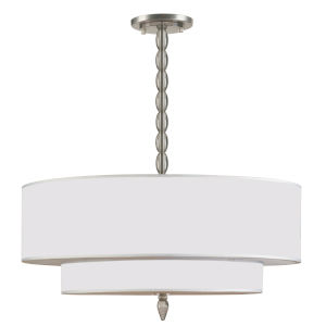 Luxo Satin Nickel Five-Light Pendant