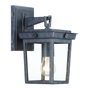 Belmont Graphite Seven-Inch One-Light Outdoor Wall Mount