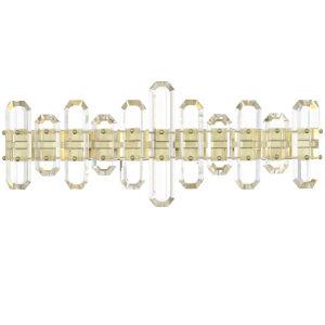 Bolton Aged Brass Three-Light Vanity