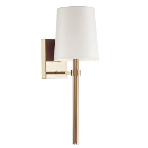 Bromley Aged Brass One-Light Wall Sconce