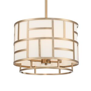 Danielson Vibrant Gold Four-Light Chandelier