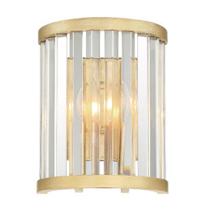 Darcy Distressed Twilight Two-Light Wall Sconces