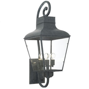 Dumont Graphite Four-Light Wall Sconces