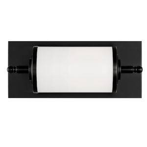 Foster Matte Black 12-Inch One-Light Wall Sconce