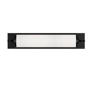 Foster Matte Black 24-Inch One-Light Wall Sconce