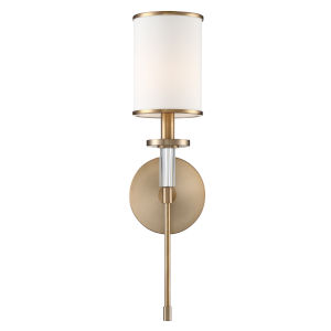 Hatfield Aged Brass One-Light Wall Sconce