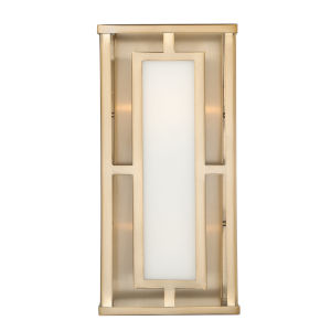 Hillcrest Vibrant Gold Two-Light Sconce
