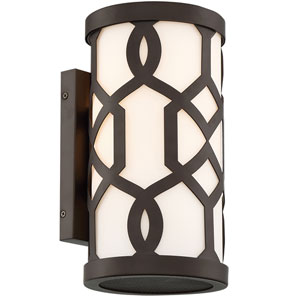 Jennings Dark Bronze One-Light Outdoor Wall Mount