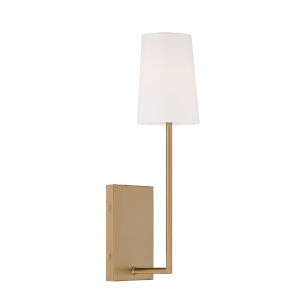 Lena Vibrant Gold Five-Inch One-Light Wall Sconce
