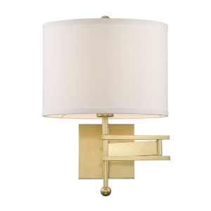 Marshall Aged Brass 13-Inch One-Light Wall Sconce