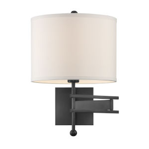 Marshall Matte Black 13-Inch One-Light Wall Sconce