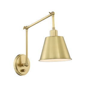 Mitchell Aged Brass 31-Inch One-Light Wall Sconce