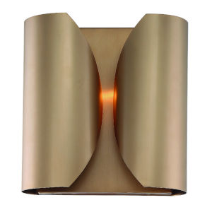 Monique Vibrant Gold 10-Inch Two-Light Wall Sconce
