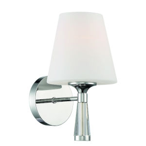 Ramsey Polished Nickel Six-Inch One-Light Wall Sconce