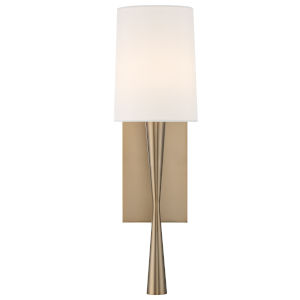 Trenton One-Light Aged Brass Wall Sconce