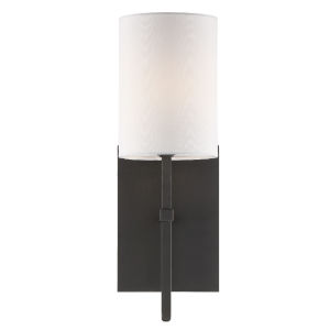 Veronica Black Forged One-Light Wall Sconce