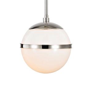 Truax One-Light Polished Nickel Mini Chandelier