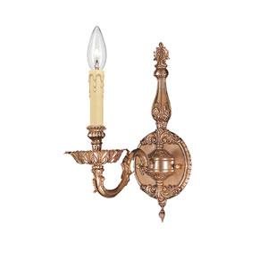Novella Olde Brass One-Light Sconce