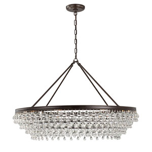 Calypso Vibrant Bronze 40-Inch Eight-Light Pendant