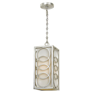 Graham Antique Silver 6.5-Inch One-Light Mini Pendantby Libby Langdon