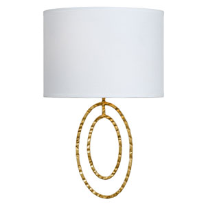 Jolie Antique Gold One-Light Sconce