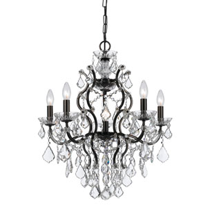 Filmore Vibrant Bronze Six-Light Chandeliers