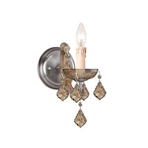 Maria Theresa Sconce with Golden Teak Swarovski Strass Crystal