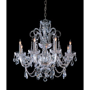 Paris Flea Crystal Eight-Light Chandelier