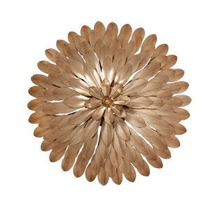 Broche Antique Gold Four-Light Wall Sconce