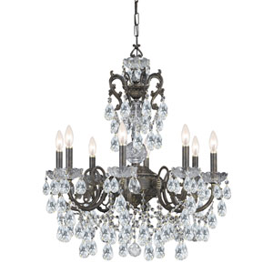 Legacy English Bronze 26-Inch Eight-Light Chandelier