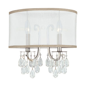 Hampton Polished Chrome Two-Light Sconce