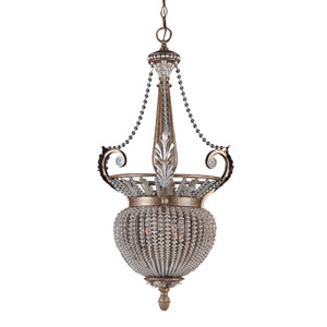 Crystal Beads Bell Pendant