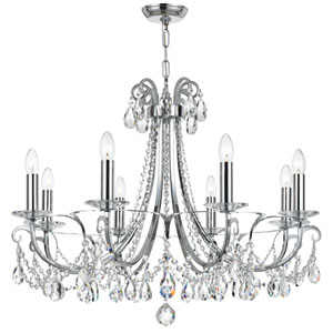 Othello Polished Chrome Eight-Light Chandelier