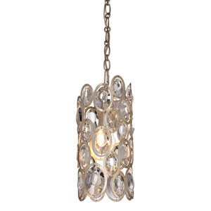 Sterling Distressed Twilight One-Light Mini Pendant