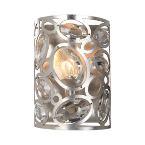 Sterling Distressed Twilight One-Light Sconce