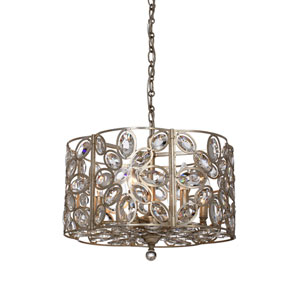 Sterling Distressed Twilight Six-Light Pendant