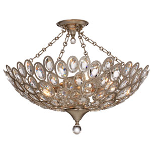 Sterling Distressed Twilight Five-Light Ceiling Mount