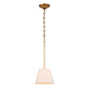 Lawson Aged Brass One-Light Pendant