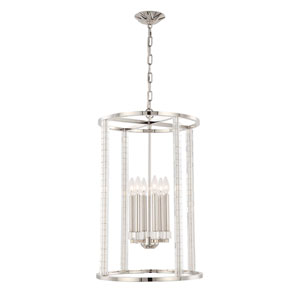 Carson Polished Nickel Five-Light Pendant