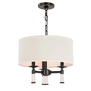 Baxter Oil Rubbed Bronze Three-Light Pendant