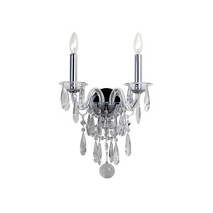 Barrymore Chrome Two-Light Sconce