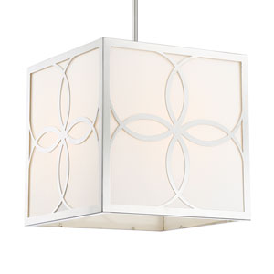 Anniversary Four-Light Polished Nickel Chandelier