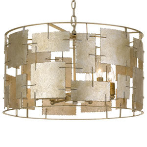 Bronson Six-Light Oxidized Silver Chandelier
